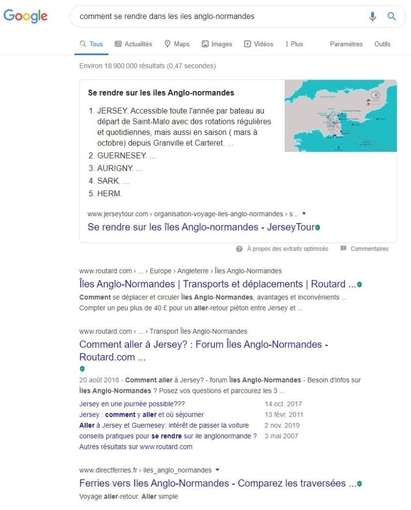 optimiser referencement etape 1 recherche mot cle