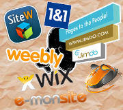 creer son site internet en ligne comparatif jimdo 1&1 wix weebly e-monsite witew