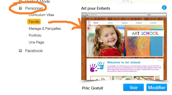 Essayez Wix pour créer un site ludique et coloré, avis wix site