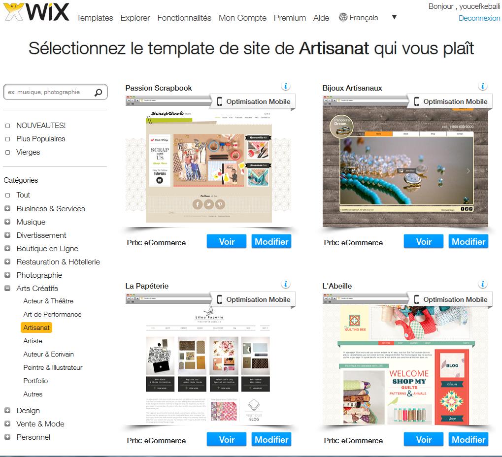 Site de rencontre avec wix