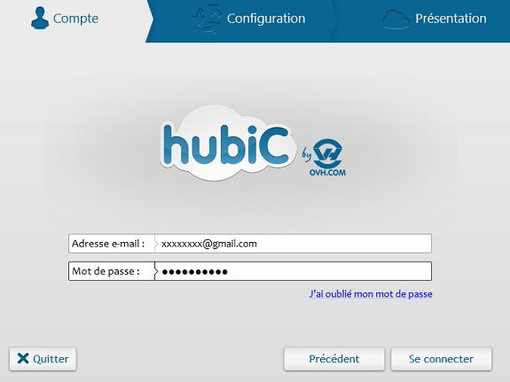 Le nouveau Dropbox francais c'est Hubic | creer son site internet c'est facile