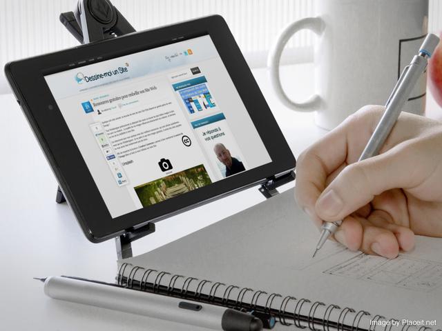 Embellir son site web avec un apercu d'écran dans un environnement réel