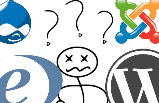 Quel CSM choisir, comparatif CMS 2014, creer son site web en ligne