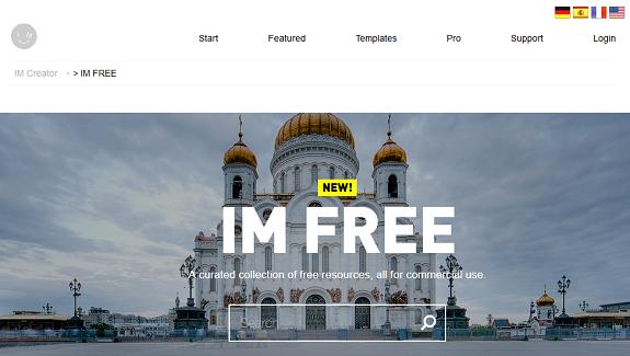 IM Free photos gratuites pour embellir votre site web, creation site internet