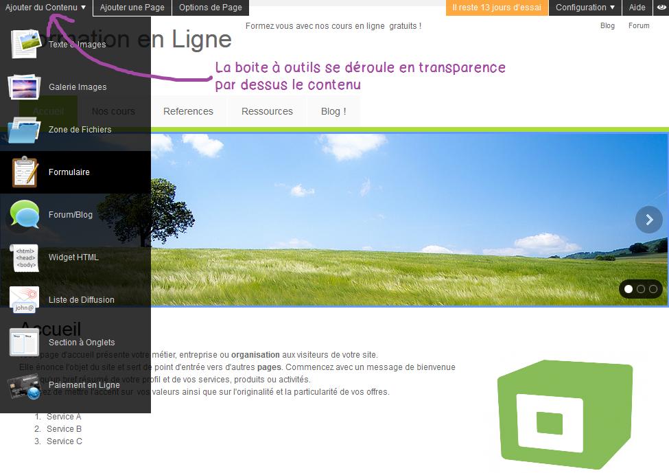 Webzoo est un createur de site internet el ligne