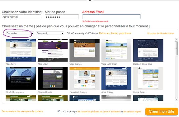 creer mon site web gratuitement avec Webzoo