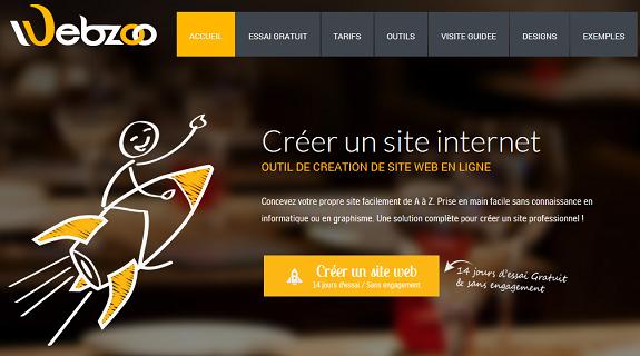 Creer un site internet pro avec Webzoo, notre avis d'expert