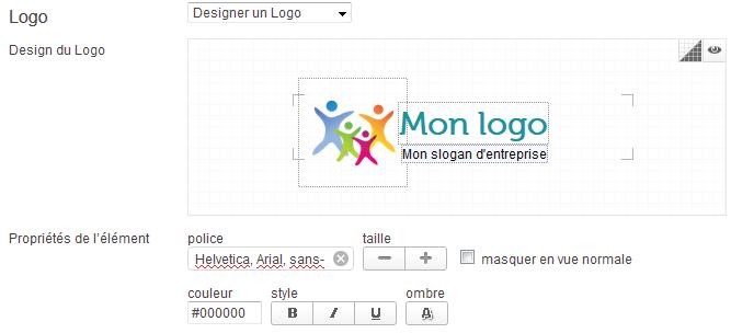 Webzoo permet de créer son logo gratuit avec l'éditeur en ligne