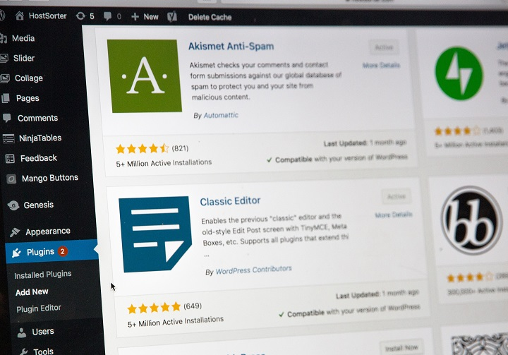 commentaires pages wordpress