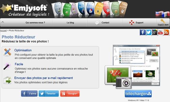 Réduire le poids de ses photos en ligne grace à photo réducteur