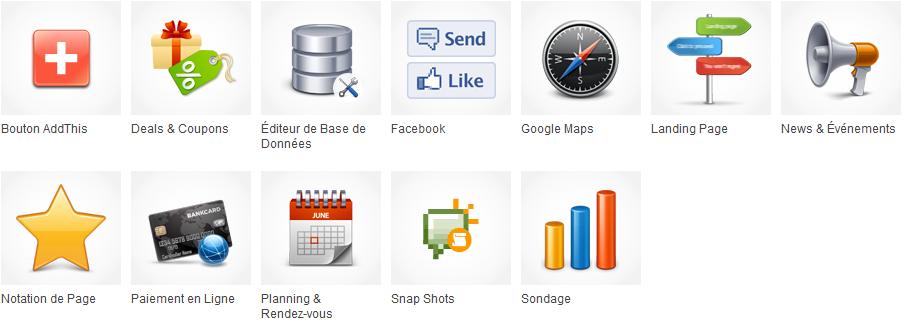 créez votre propre site iternet avec les application métier d'iPaoo