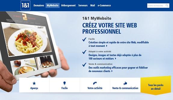 Mon avis sur 1&1 Mywebsite, est-il vraiment efficace pour créer votre site internet