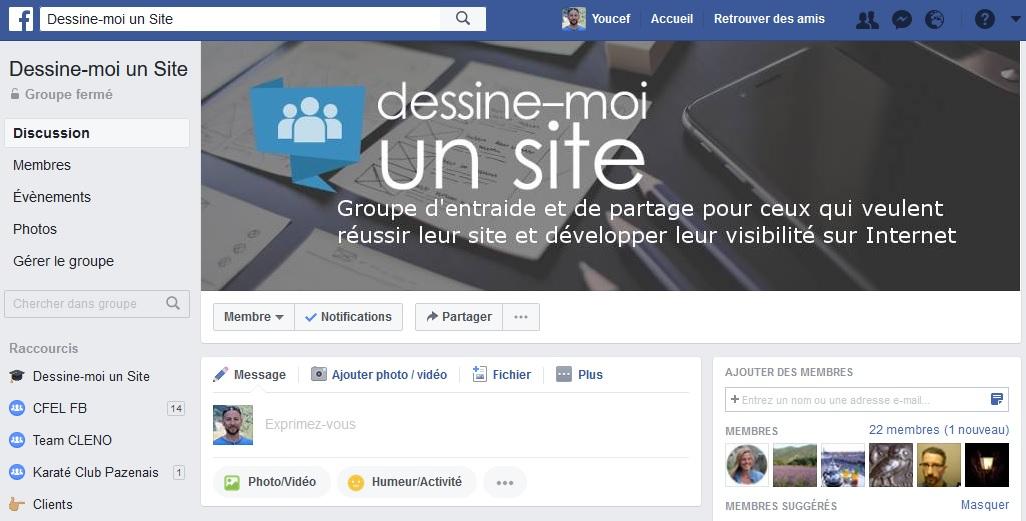Comment créer un groupe privé sur facebook