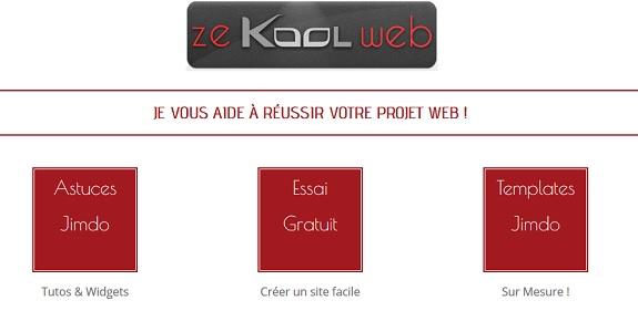 Olivier zekoolweb jimdo expert donne des conseils gratuits et tutos vidéo