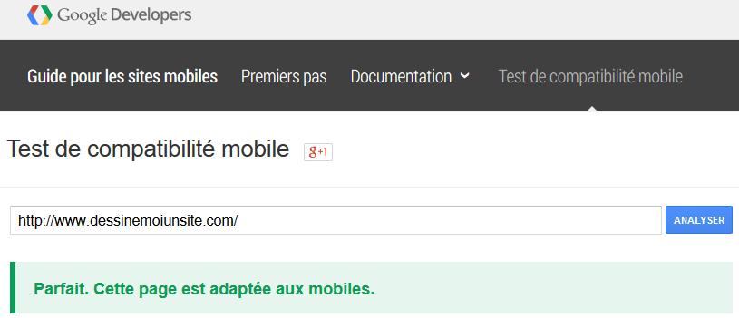 Comment vérifier qu'un site est mobile-fiendly