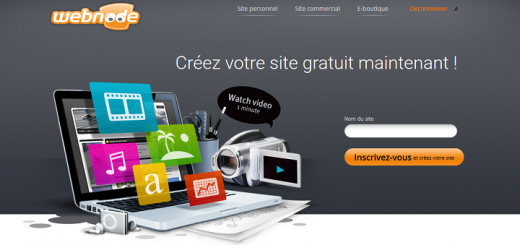 Test Webnode avis sur l'outil de création de site