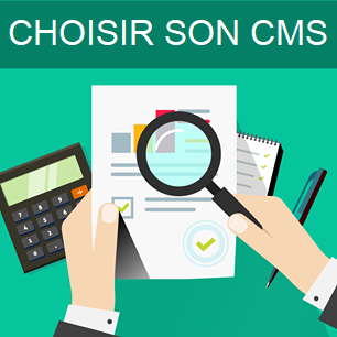 Comparatif choisir CMS creation site internet